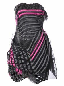 Rubin Singer feathered dress - Black