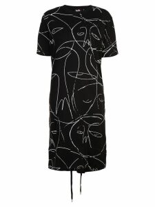 Haculla one of a kind T-shirt dress - Black