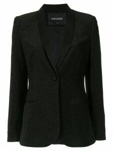 Tufi Duek glitter sinish blazer - Black