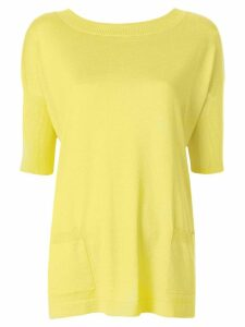 Snobby Sheep long line knitted top - Yellow