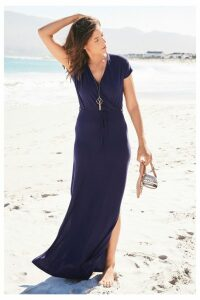 Womens Next Navy Wrap Dress -  Blue