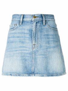 FRAME Le Mini denim skirt - Blue