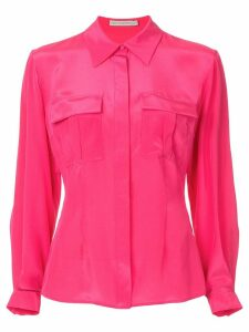 Mary Katrantzou double pocket shirt - Pink