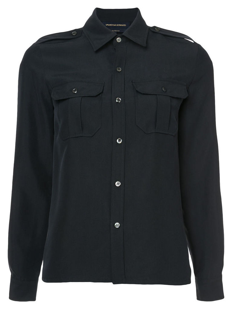 Vanessa Seward driver shirt - Black