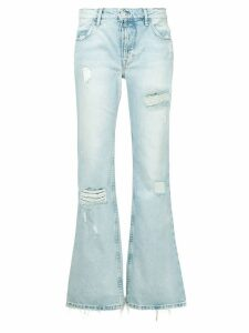 Adaptation distressed denim trousers - Blue
