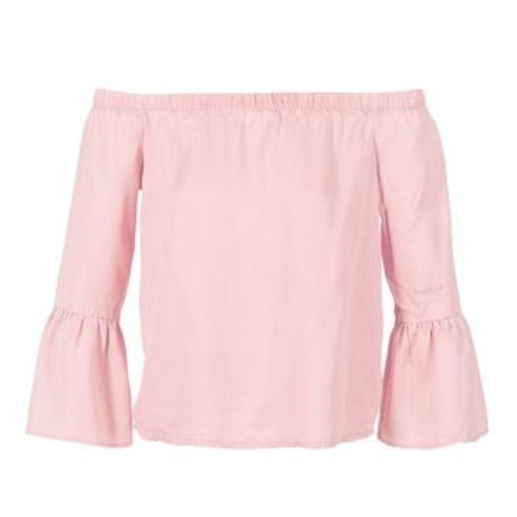Only  SANDY  women's Blouse in Pink