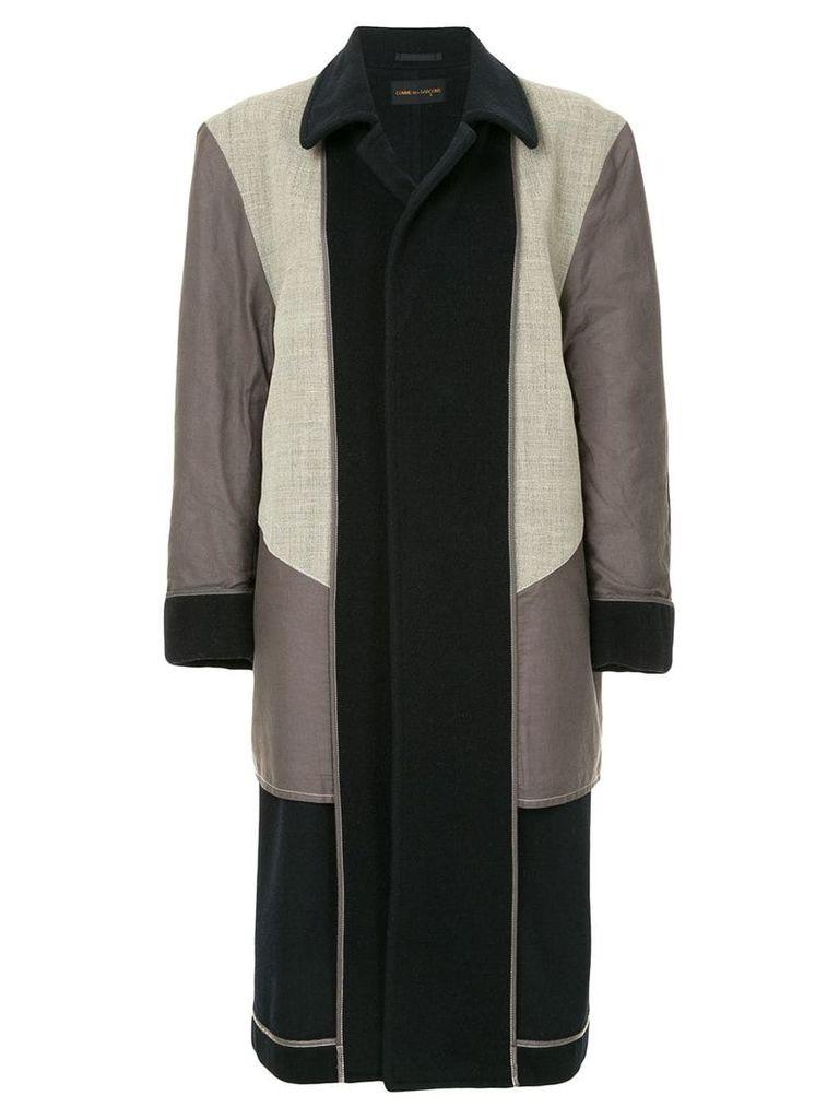 Comme Des Garçons Vintage inside out coat - Black