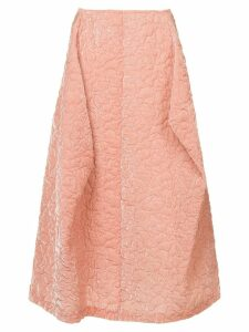 Comme Des Garçons Pre-Owned puffy textured pink skirt