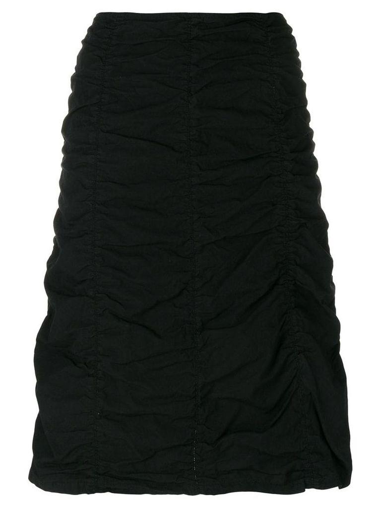 Romeo Gigli Vintage gathered short skirt - Black