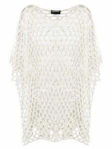 Missoni Pre-Owned net shift blouse - White