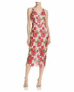 Avery G Floral Lace Dress