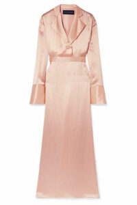 Michael Lo Sordo - Silk-satin Maxi Dress - Blush