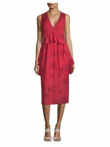 Favril Floral Midi Dress