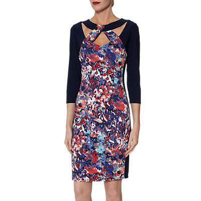 Gina Bacconi Khadija Jersey Dress, Multi