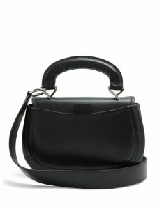 Lemaire - Pumpkin Vegetable Tanned Leather Bag - Womens - Black