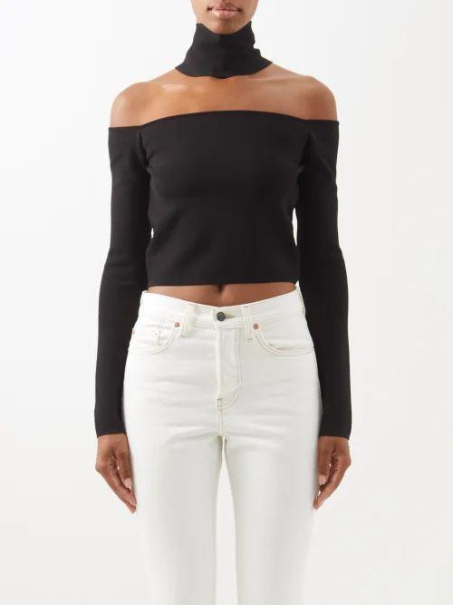 Norma Kamali - Scoop Neck Jersey Bodysuit - Womens - Grey
