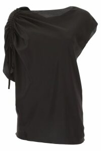Lanvin Silk Blouse With Drawstring