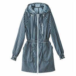 Hooded Striped Windcheater