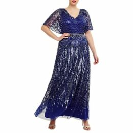 Studio 8 Athena Maxi Dress, Cobalt Blue