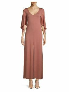 Marielle Asymmetric-Sleeve Dress