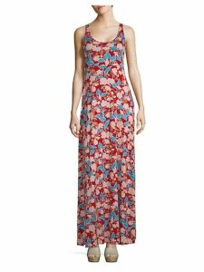 Esther Floral-Print Maxi Dress