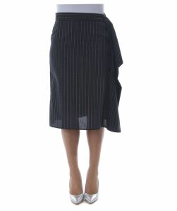 Draped Detail Skirt