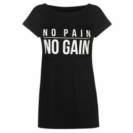 USA Pro Slogan T Shirt Ladies