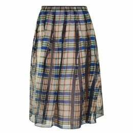Marni Checked Gonna Skirt