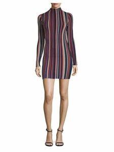 Jessica Striped Mini Dress