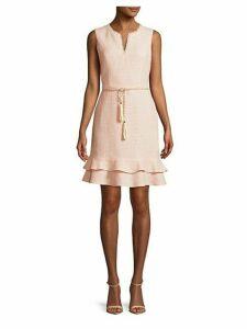 Tassel Ruffled Dress