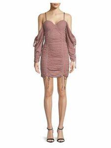 Batya Cold-Shoulder Dress