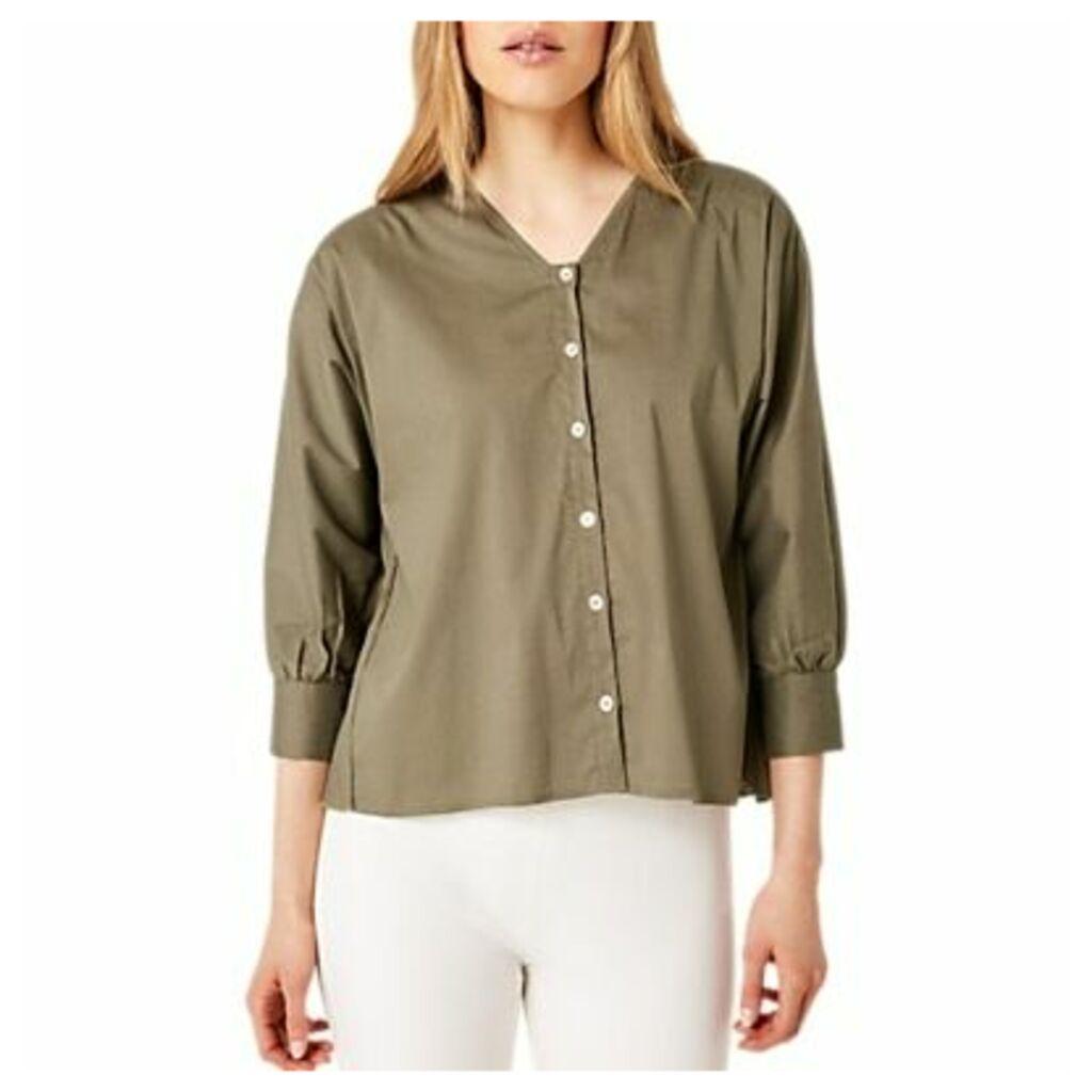 Damsel in a Dress Kym Shirt, Khaki