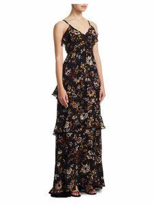 Zaydena Floral Maxi Dress