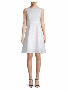 Eyelet Lace Cotton Dress