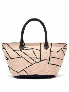 Sophie Anderson - Celio Woven Crochet Bag - Womens - Pink Multi