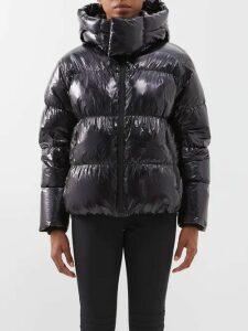 Balenciaga - Perforated Neoprene Top - Womens - Light Yellow