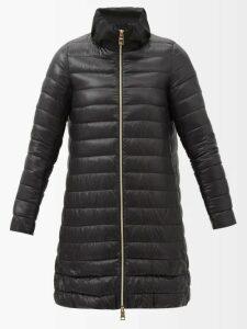 Lisa Marie Fernandez - Polka Dot Print Tie Waist Linen Skirt - Womens - Yellow Multi