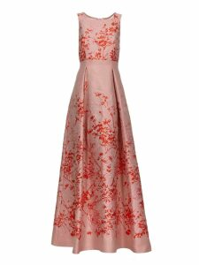 Piano Forte Printed Floral Dress