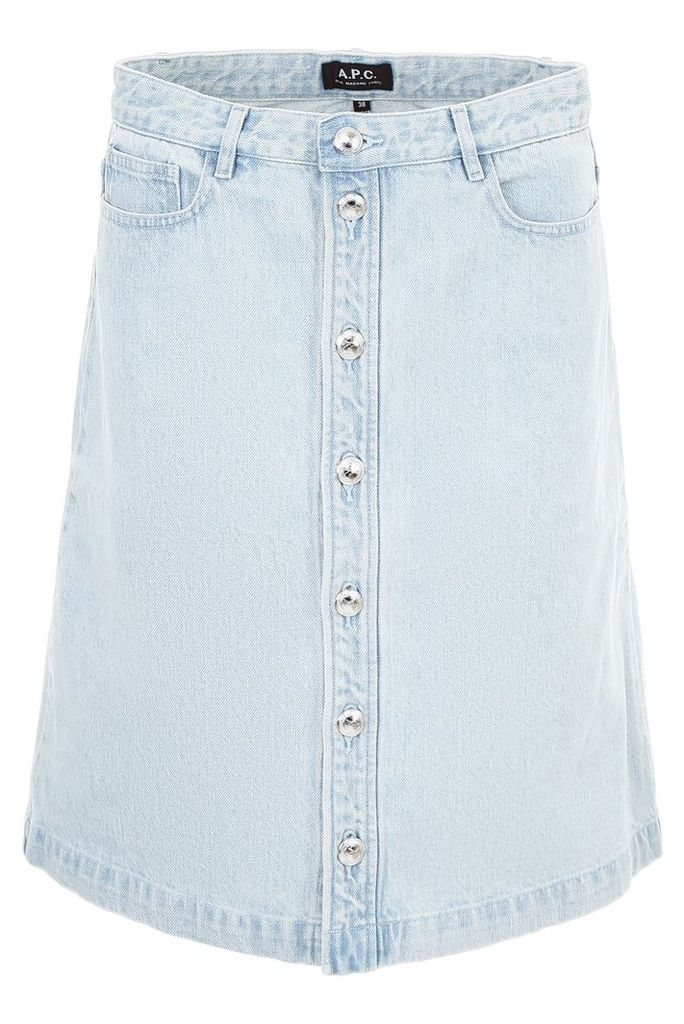 A.P.C. Denim Therese Skirt
