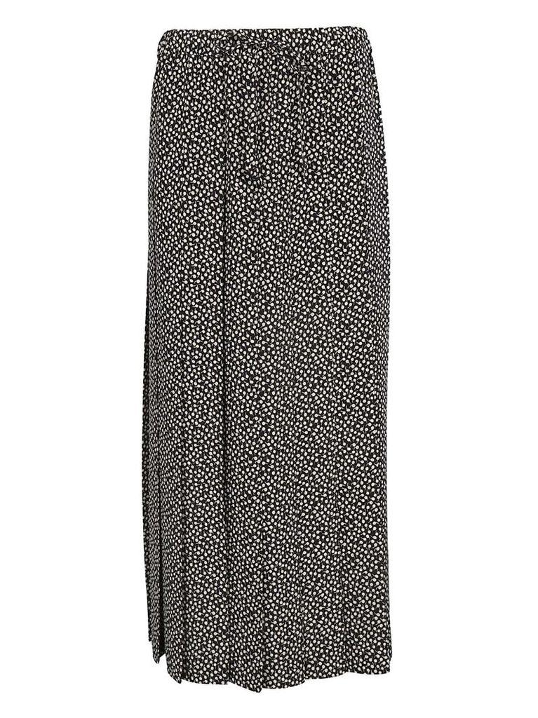 Aspesi Printed Pleated Skirt