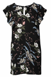 Izabel London Floral T-Shirt Dress