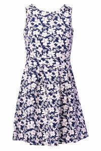 Izabel London Floral High Neck Dress