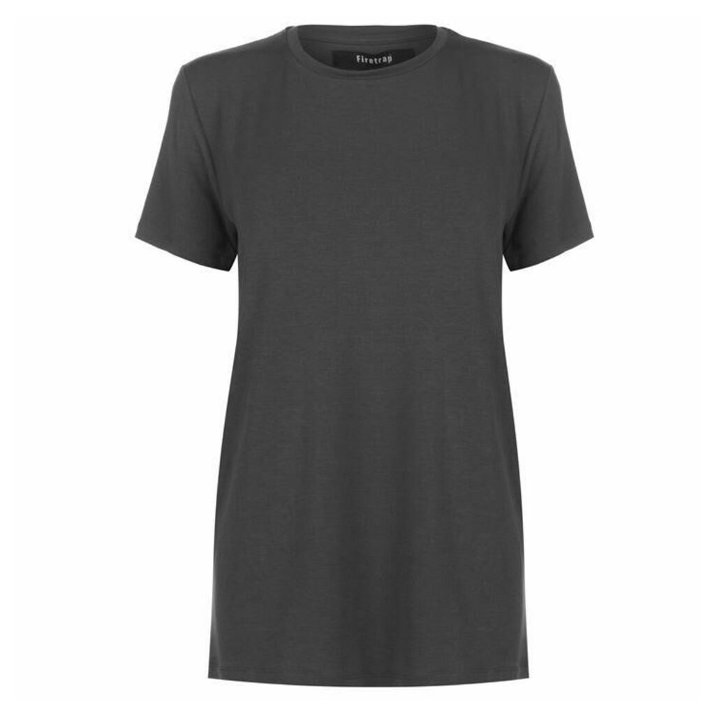 Firetrap Basic Plain T Shirt