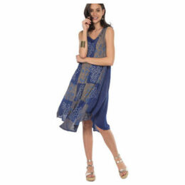 Couleurs Du Monde  Dress  women's Dress in Blue