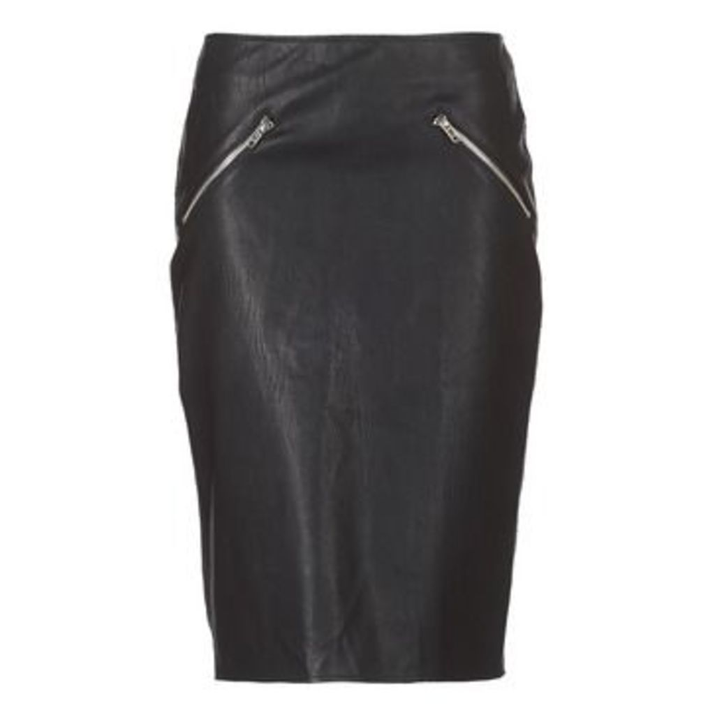 Moony Mood  EVALAN  women's Skirt in Black