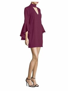 Andrea Bell-Sleeve Dress