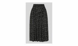 Gobi Print Textured Skirt