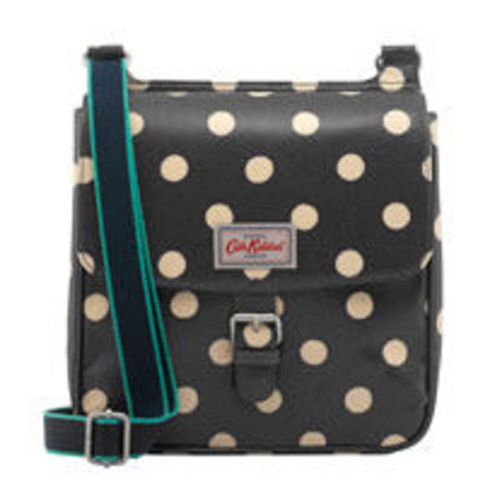 Button Spot Tab Saddle Bag