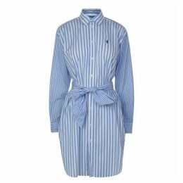 Polo Ralph Lauren Long Sleeved Striped Dress