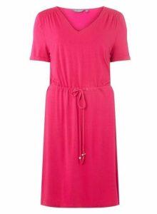 Womens **Tall Hot Pink Shift Dress- Pink, Pink